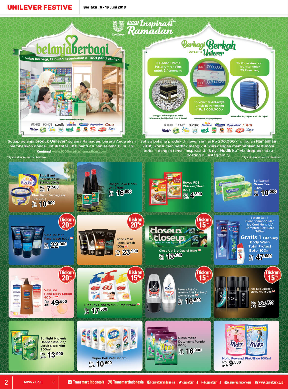 Katalog Carrefour 7 Jun 19 Voucher Carefur Type To Search Item In This Catalogue