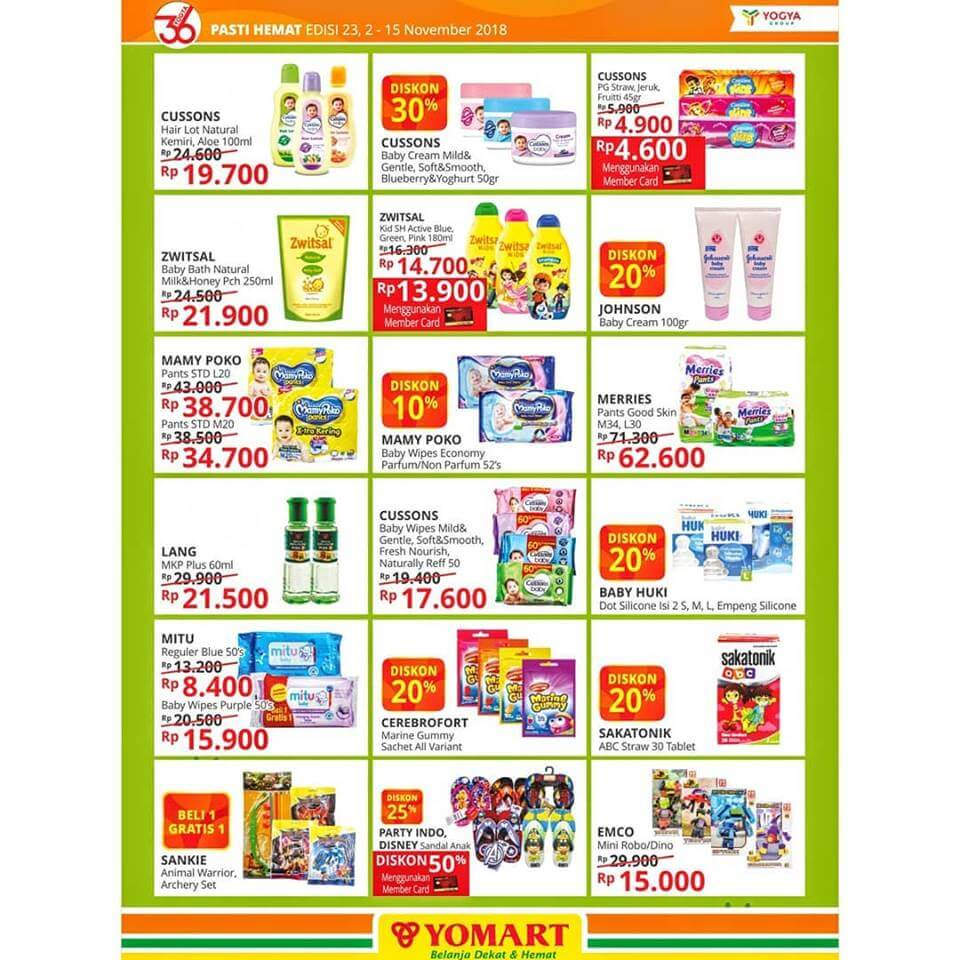 Katalog Yomart 2 Nov 15 Cussons Baby Cream Mild And Gentle 50 Gr Type To Search Item In This Catalogue