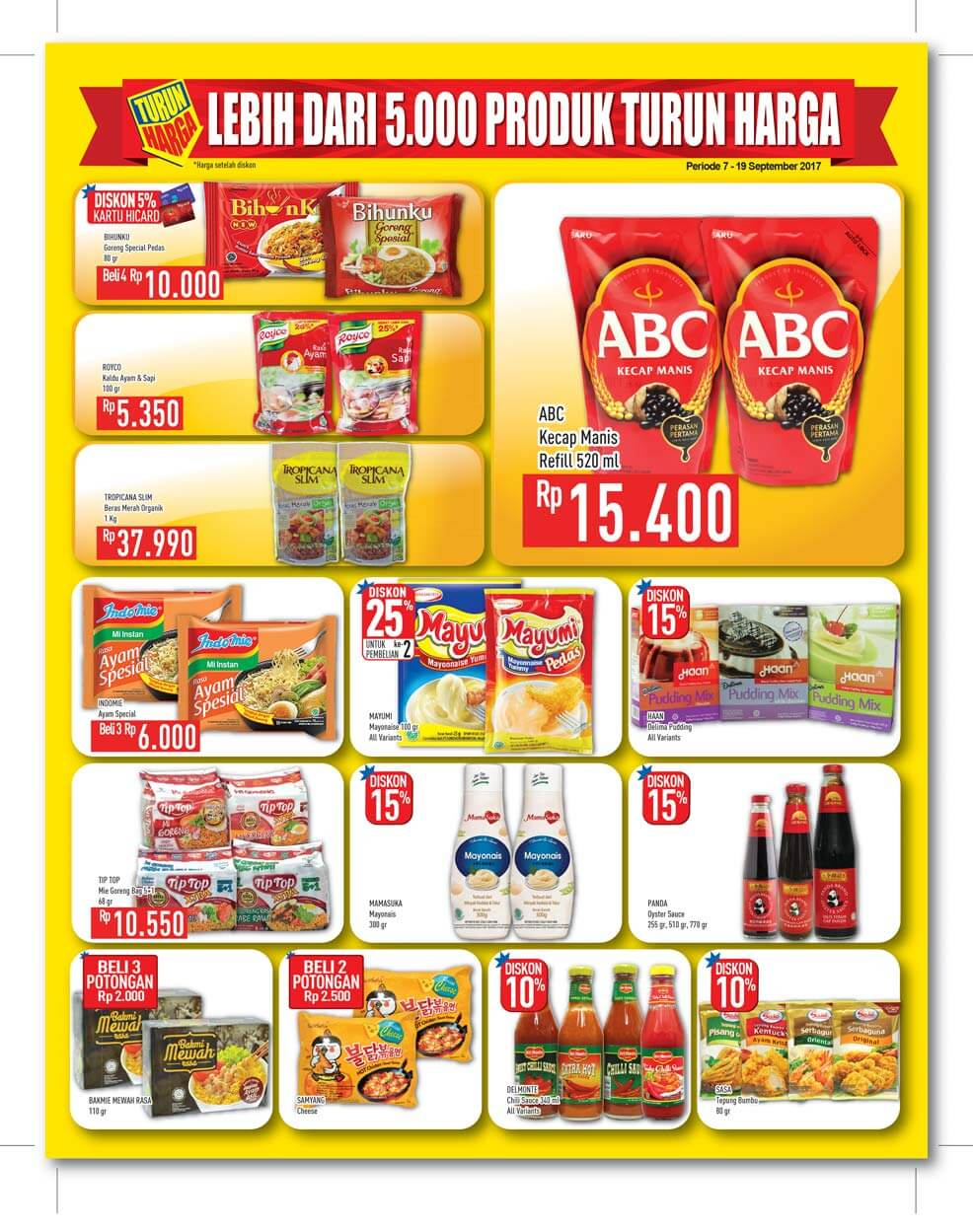 Katalog Hypermart 8 Sep 19 Kecap Manis Abc Reffill 520ml Type To Search Item In This Catalogue