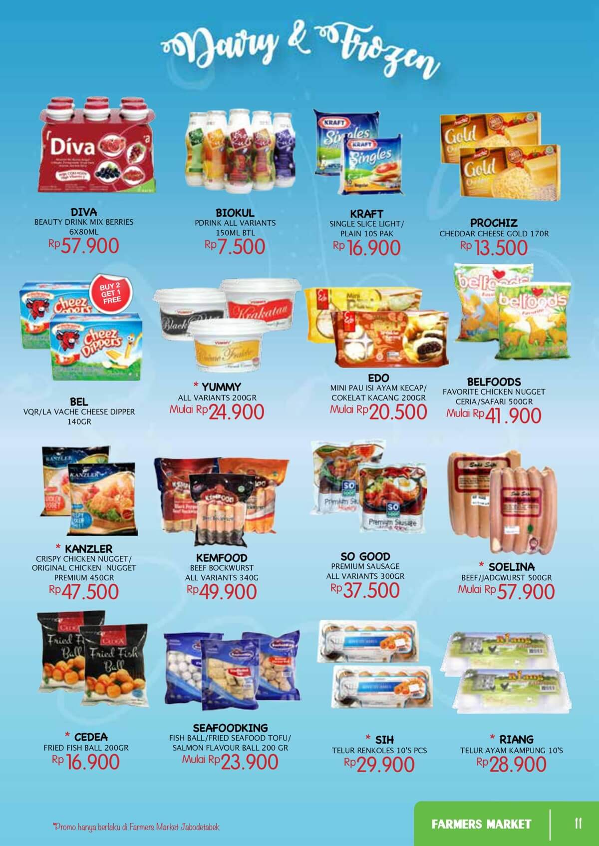 Katalog Farmers Market 10 May 18 Belfoods Favorite Chicken Nugget Ceria Type To Search Item In This Catalogue